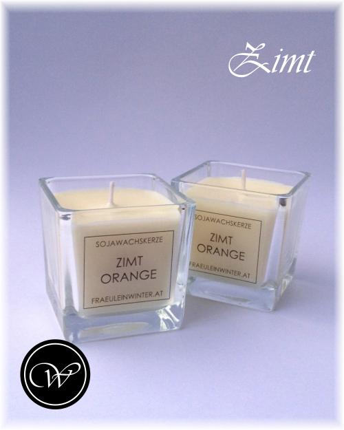 Duftende handgemachte Kerzen aus Sojawachs
