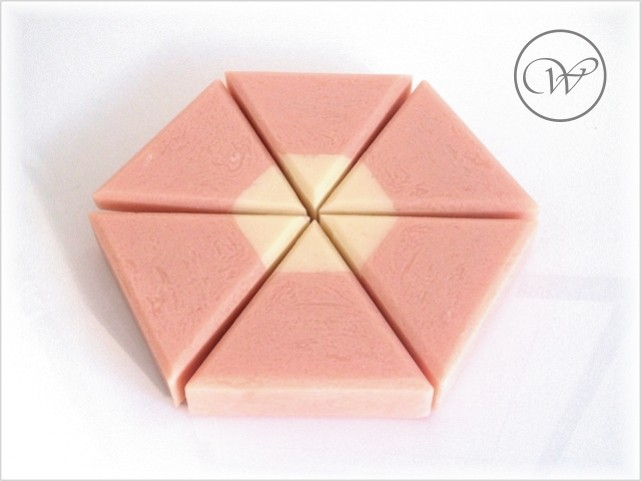 "Seife ""Rose of Eden"" - equilateral soap - handmade soap"