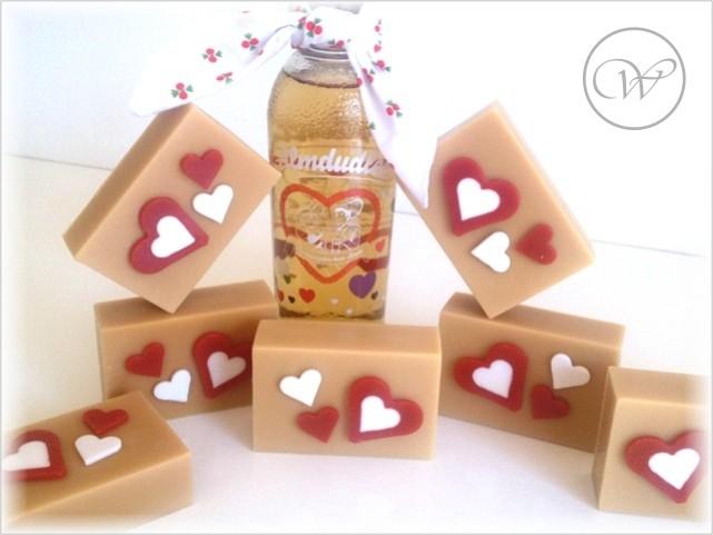 "Seife ""Almherzerl"" - handmade soap"