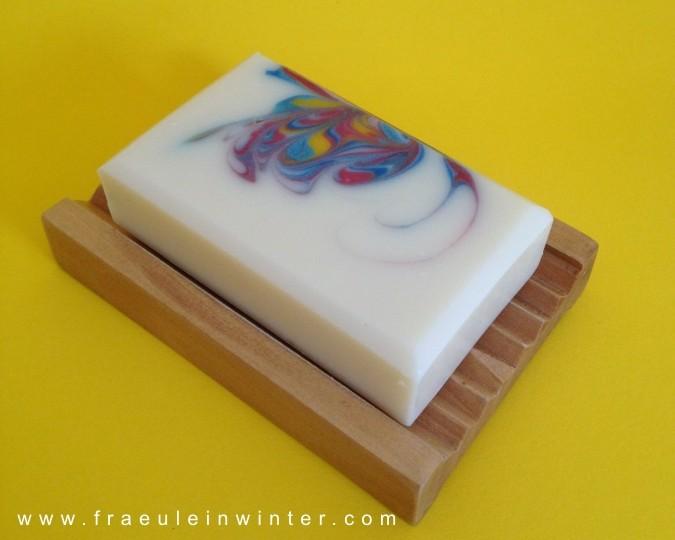 Butterfly-Swirl - handmade soap