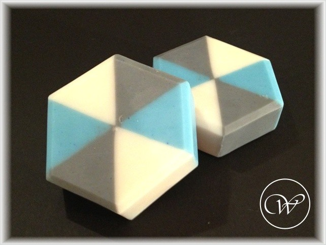 "Seife ""Nautic"" - geometric soap"