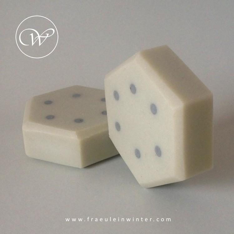 Polka dots - handmade soap