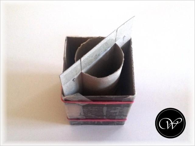 Form: Eigenbau aus Karton