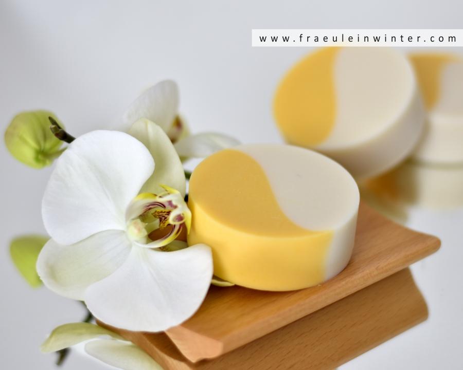Handgemachte Seife in Yin und Yang Muster | Fräulein Winter