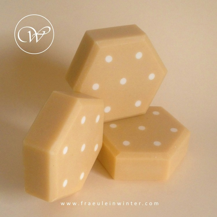 Polka dots - cold process soap