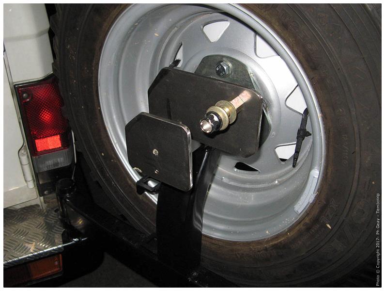 Modif porte roue
