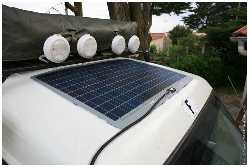 Longue portée et panneau solaire