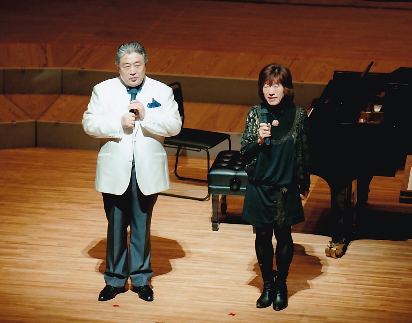 大熊崇子先生と辻先生のトーク