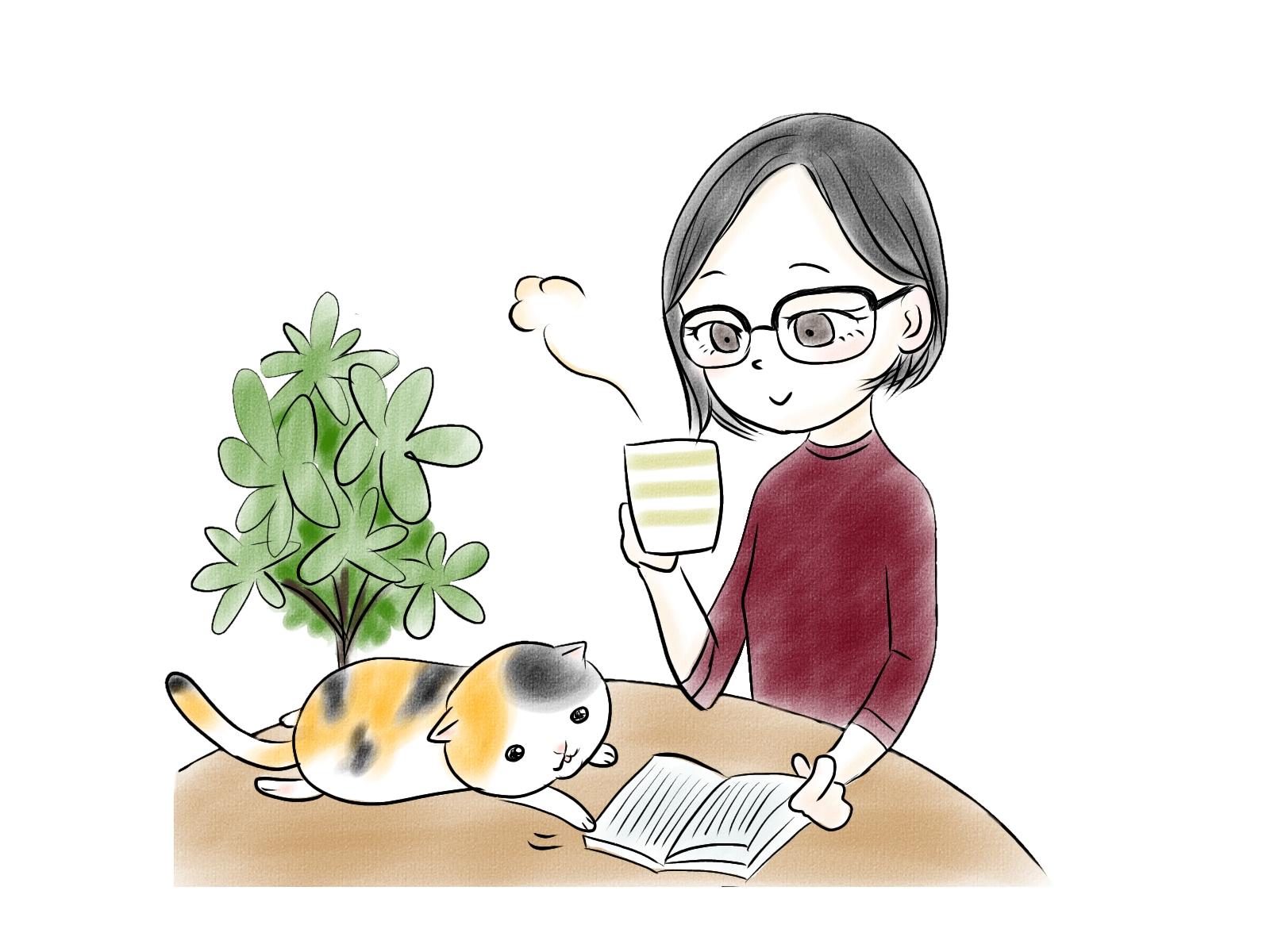 秋の夜長に手読書用メガネはいかがでしょうか?