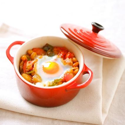 大豆とコーンのスープ