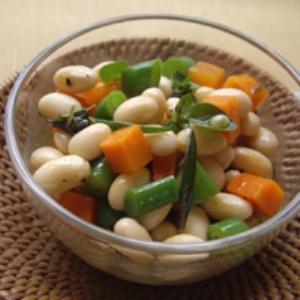 大豆のハーブマリネ