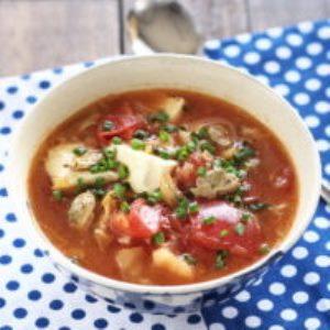 トマトのチゲスープ