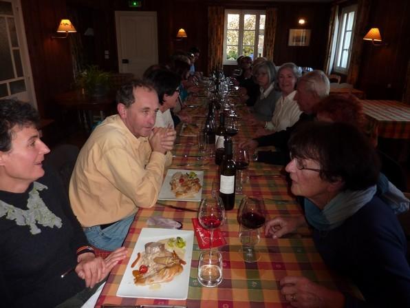 Au restaurant des Bains de Secours le chef Jean Pierre Paroix Maître Restaurateur confirme une qualité toujours excellente.