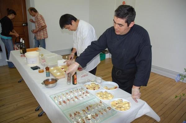 Le chef stéphane Carrade le propose également en version salée sous forme de toasts ou sucrée (crèpes fourrées).