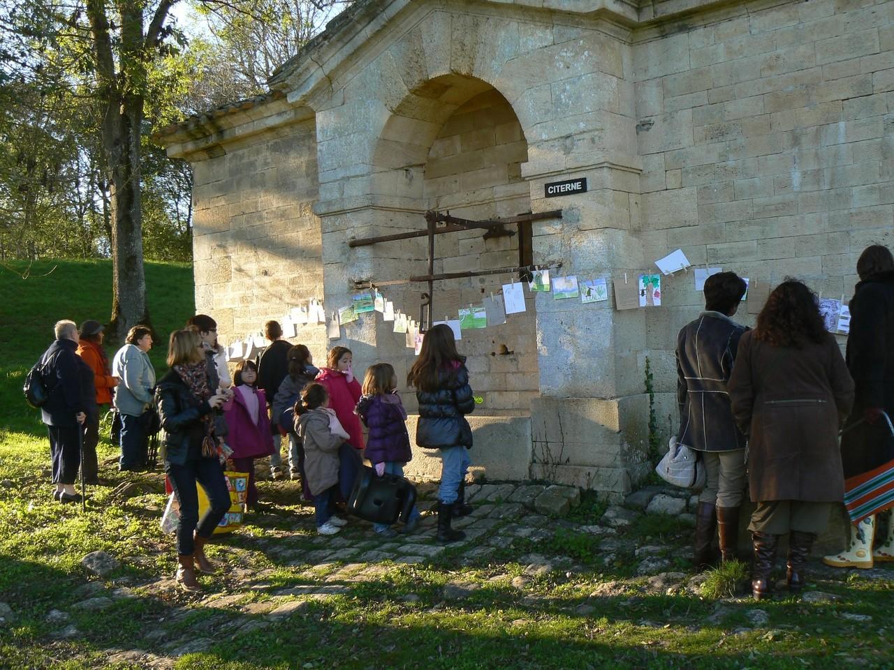 Exposition des dessins et extraits de conte, Fort Médoc