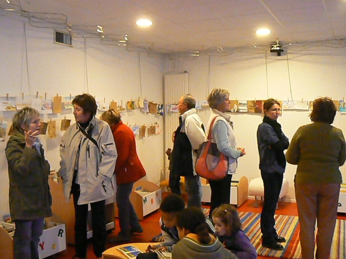 Exposition des dessins et extraits de conte, Pauillac