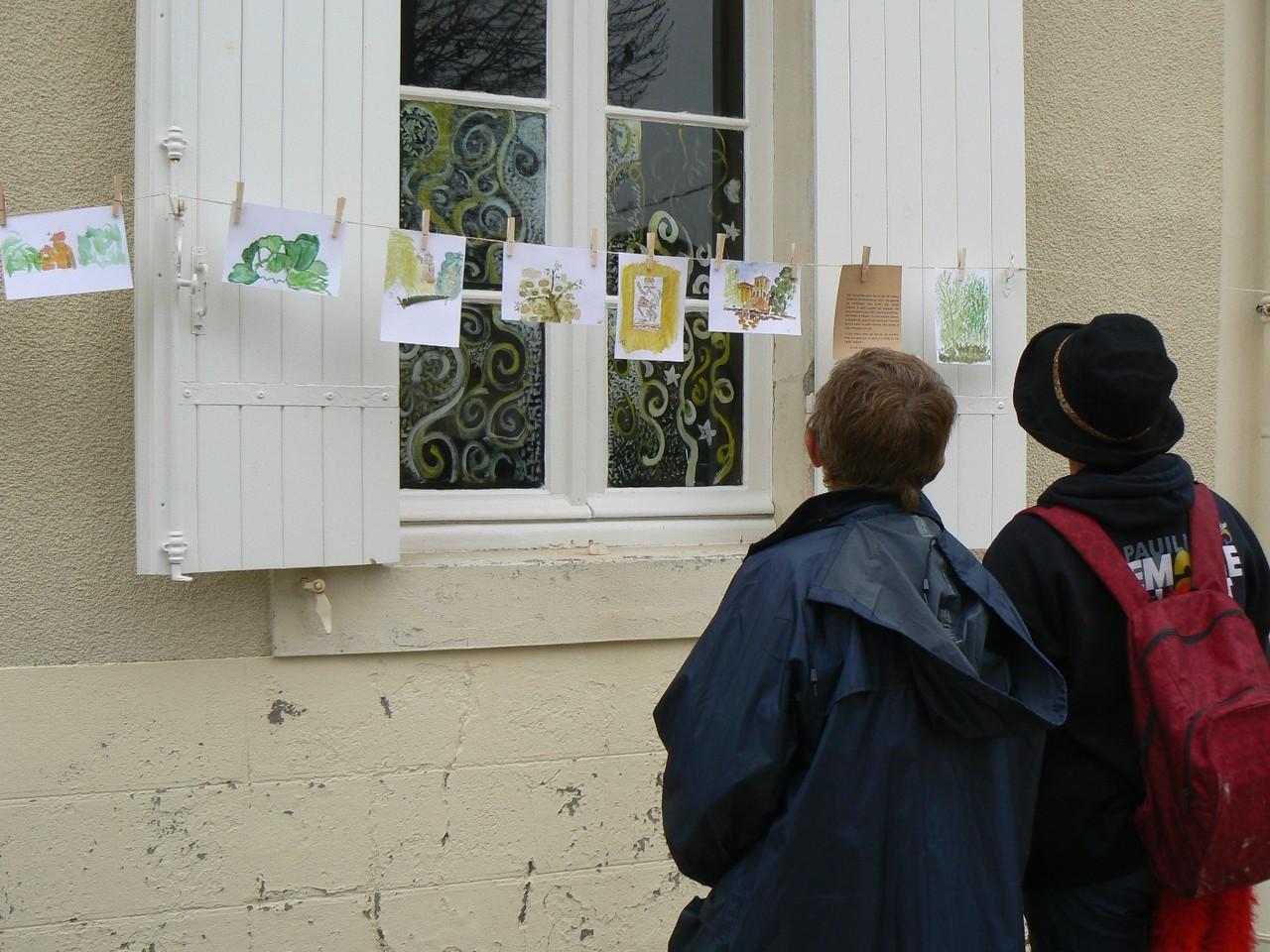Exposition des dessins et extraits de conte, Vertheuil