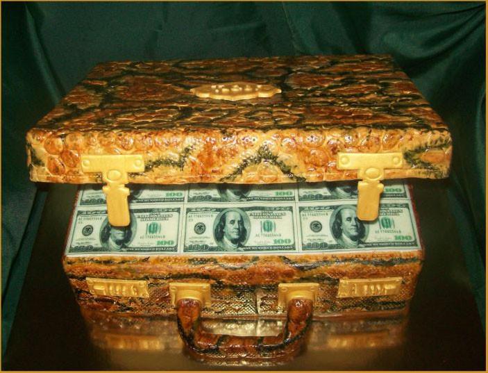 """Торт """"Чемодан денег"""", 3,5 кг"""