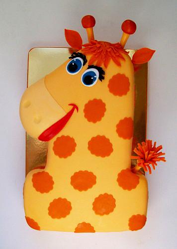 "Торт ""Жираф-единичка"", 2,8 кг"