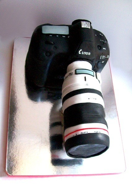 "Торт ""Фотоаппарат Canon EOS-1D X Body"", 3 кг"