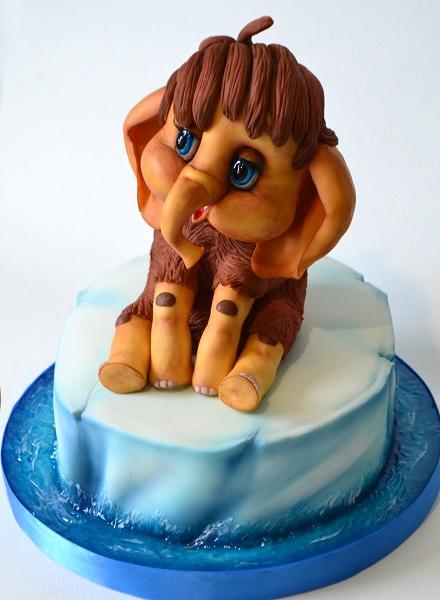 "Торт ""Мама для мамонтенка"", 3,5 кг."