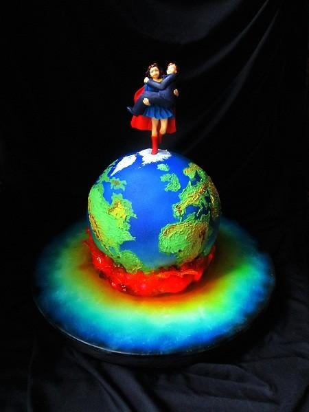 """Торт """"Супер-женщина"""", 4 кг"""