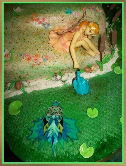 Фея и водяной дракон