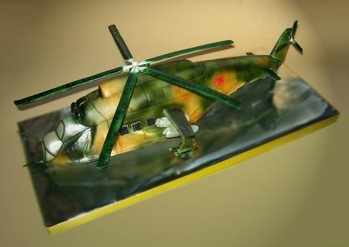 """Торт """"Вертолет МИ-24"""", 2 кг"""