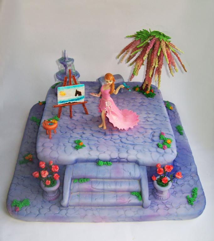 """Торт """"Для юной художницы"""", 3,5 кг"""