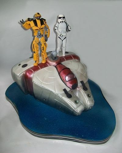 """Торт """"Космический корабль"""", 2, 5 кг"""