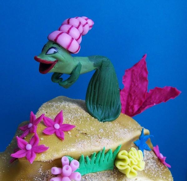Танцующая рыбка