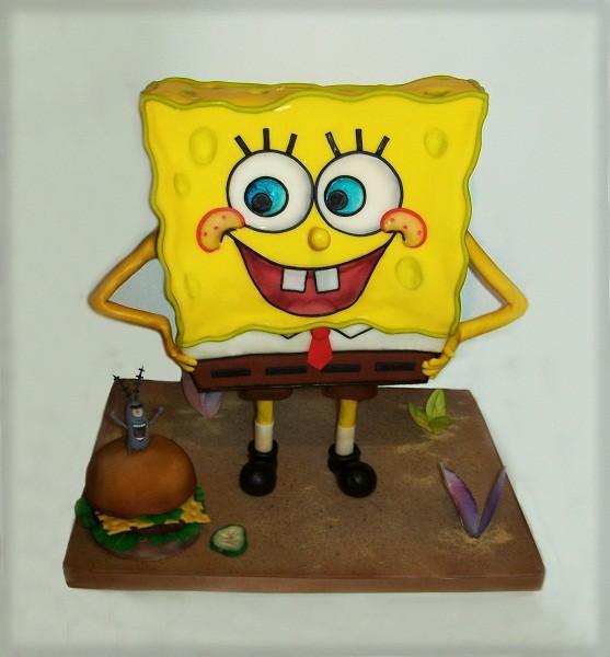 "Торт ""Спанч Боб"""
