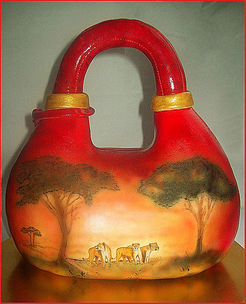 """Торт-сумка """"Львицы Африки"""" (серия Animals), 2, 7 кг"""