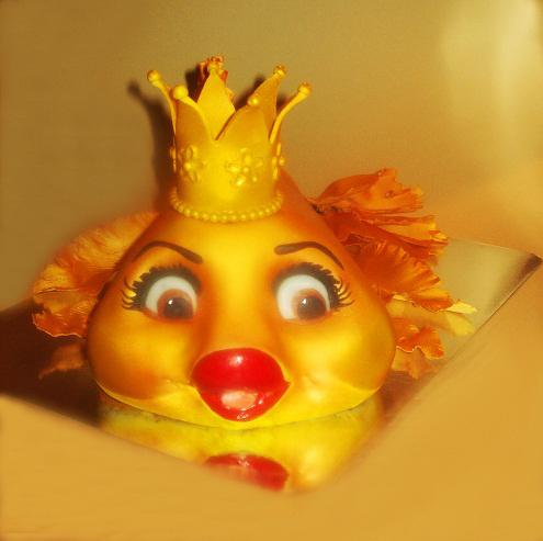 """Торт """"Золотая рыбка"""" (для Даринки), 3 кг"""