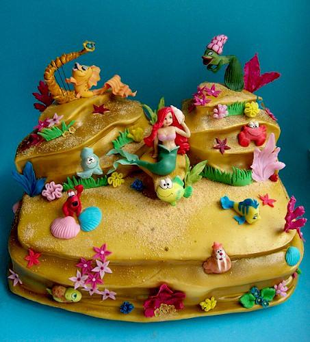 "Торт для доченьки ""Русалочка"", 5 кг"
