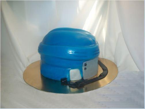 "Торт ""Хоккейный шлем"", 3,4 кг"