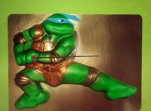 """Торт """"Черепашка-ниндзя Леонардо"""", 2, 5 кг"""