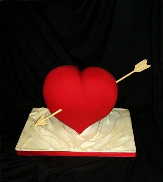 """Торт """"Сердце"""", 5,5 кг"""
