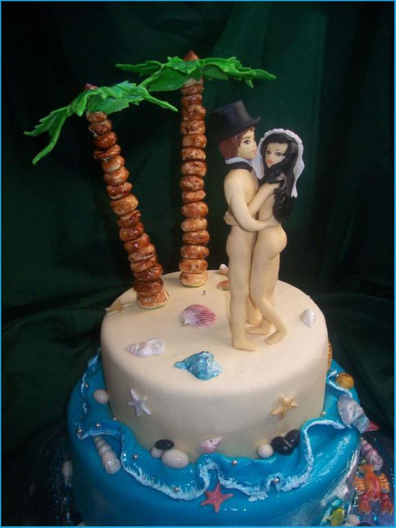 """Свадебный торт """"Голуба лагуна"""", 4,2 кг"""