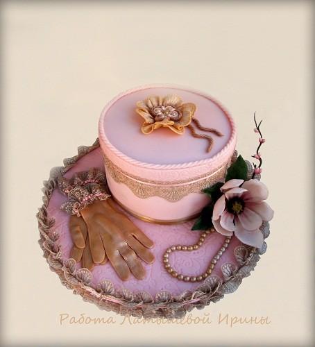"Торт ""Шкатулка для дамы"", 3,2 кг"
