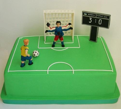 """Торт для болельщика """"Футбол"""", 2,7 кг"""