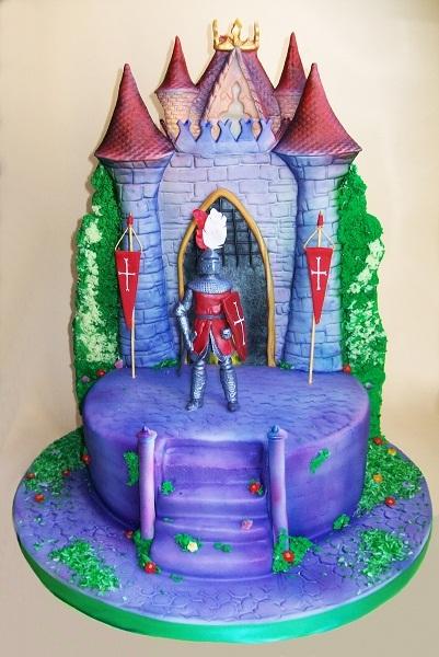 """Торт """"Замок для рыцаря"""", 3,4 кг"""
