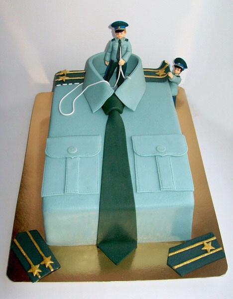 """Торт-рубашка """"Для подполковника"""", 3,3 кг"""