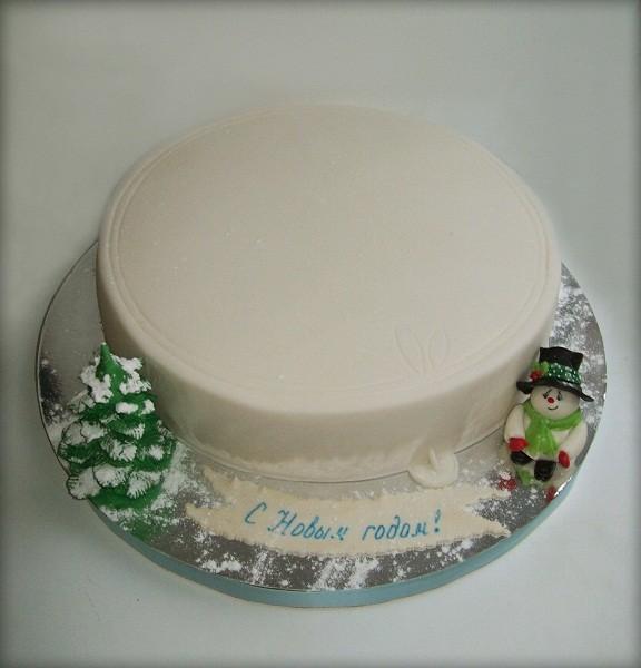 "Корпоративный торт ""П/э крышка"", 4 кг"