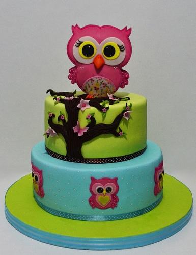 """Торт """"Стилизованные совы"""", 6 кг"""