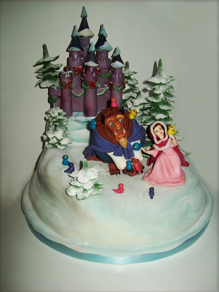 "Торт ""Красавица и Чудовище"", 3,8 кг"