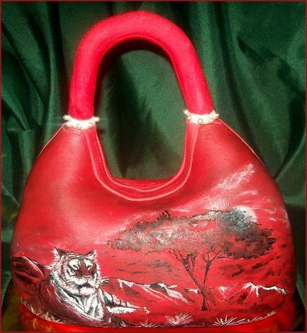 """Торт-сумка """"Тигр в Сафари"""", 2 кг"""
