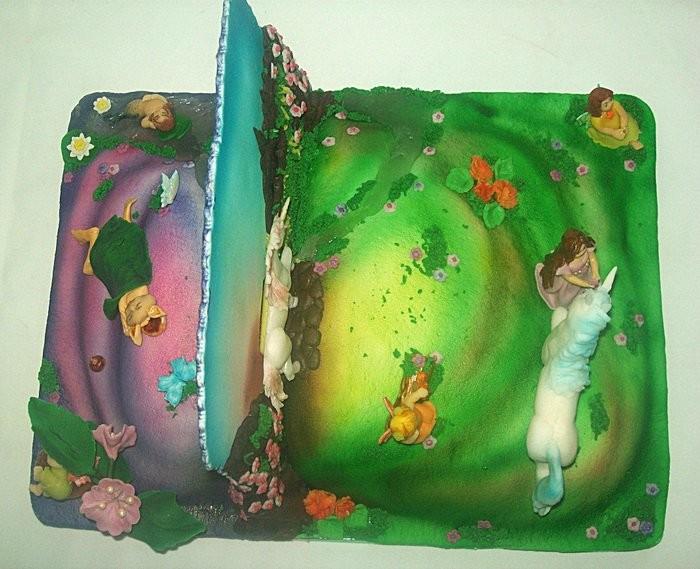 """Торт """"Легенды единорога"""" (Рассвет и ночь), 4, 2 кг"""