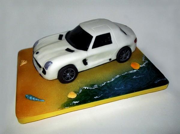 "Торт ""Мерседес SLS AMG"", 3 кг"