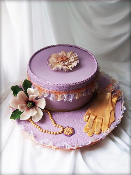 "Торт ""Винтажная шкатулка"", 4 кг"